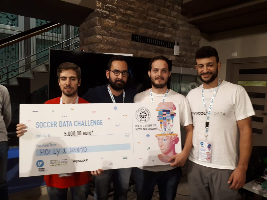 Winners of soccer data challenge